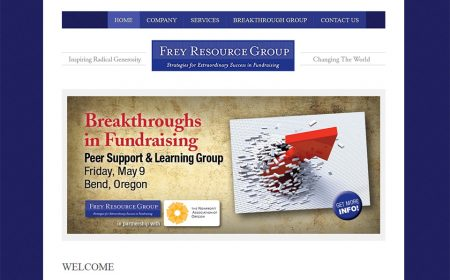 Website Frey Resource Group Designed By Rudtek