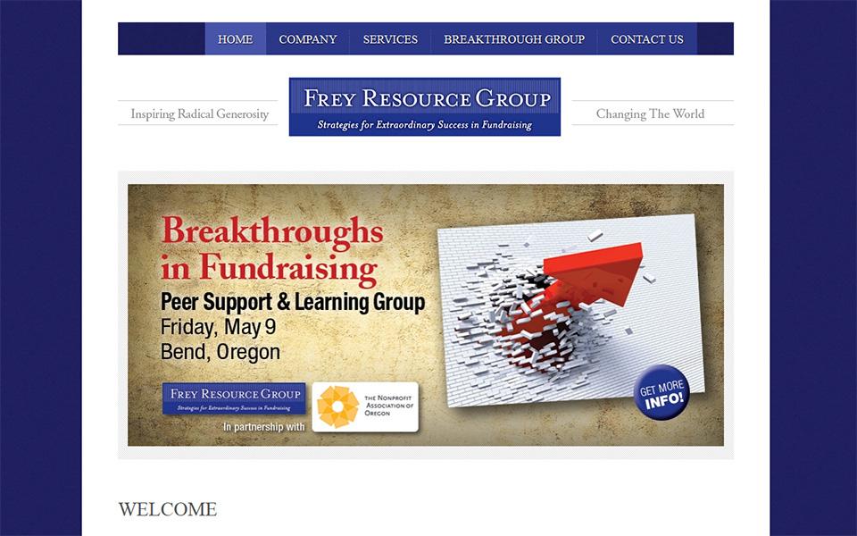 Website Frey Resource Group Designed By Rudtek