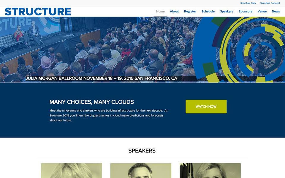 Rudtek Structure Conference Website Image