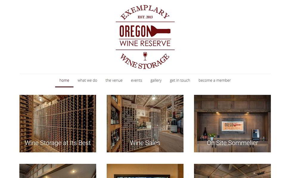 Rudtek Oregon Wine Reserve Website